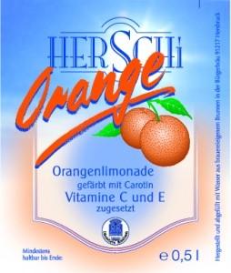 Orangenlimonade 0,5l
