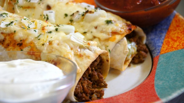 Enchiladas mit Hackfleisch