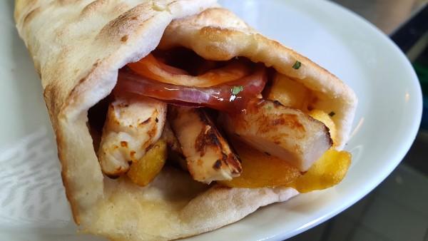 BBQ Chicken Pita